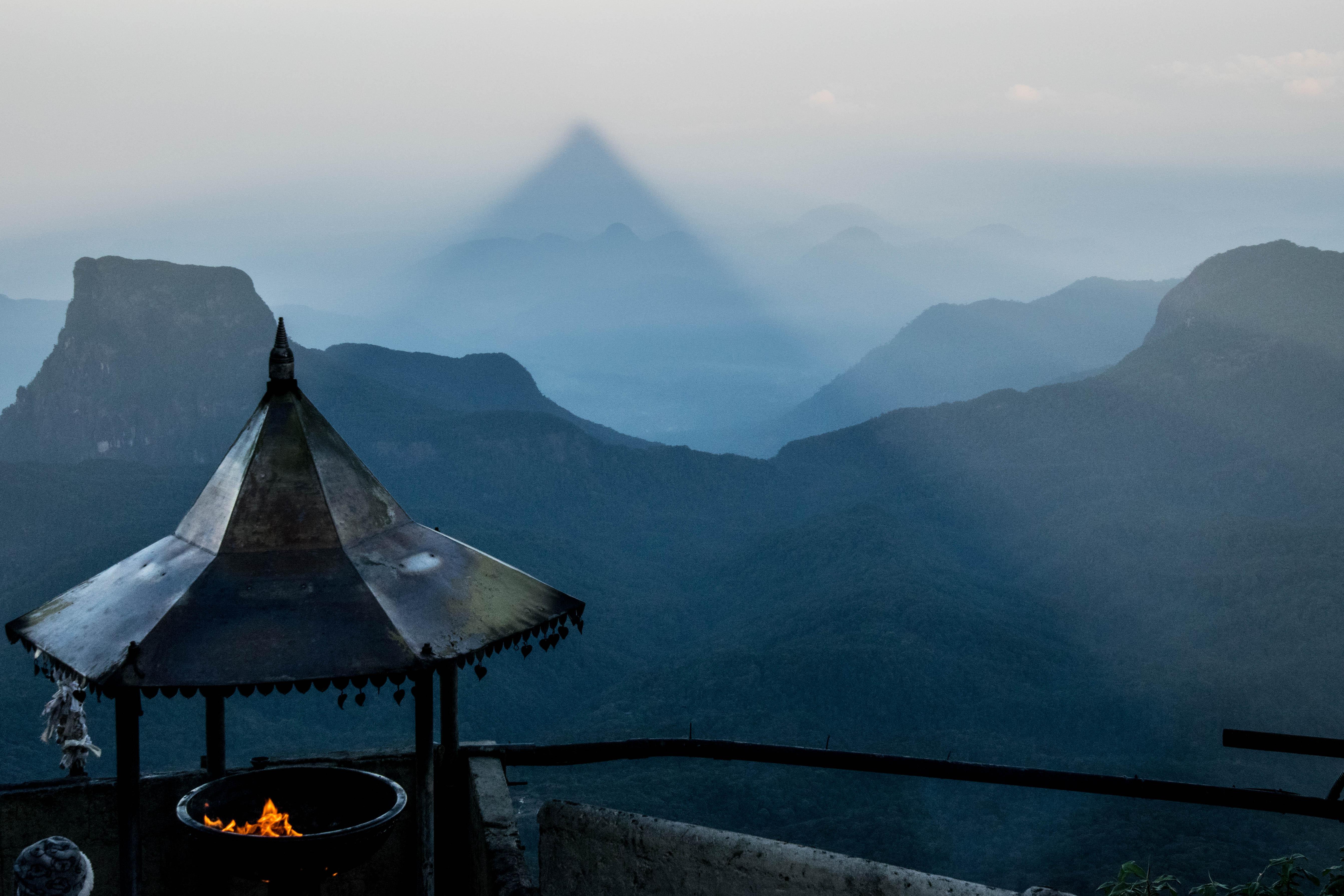 L'ascension d'Adam's Peak