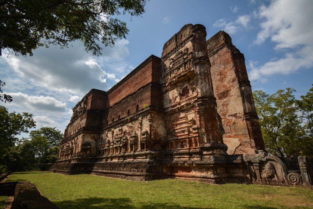 Les ruines de Polonnaruwa
