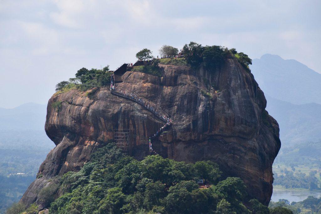 Rocher du Lion de la Citadelle de Sigiriya