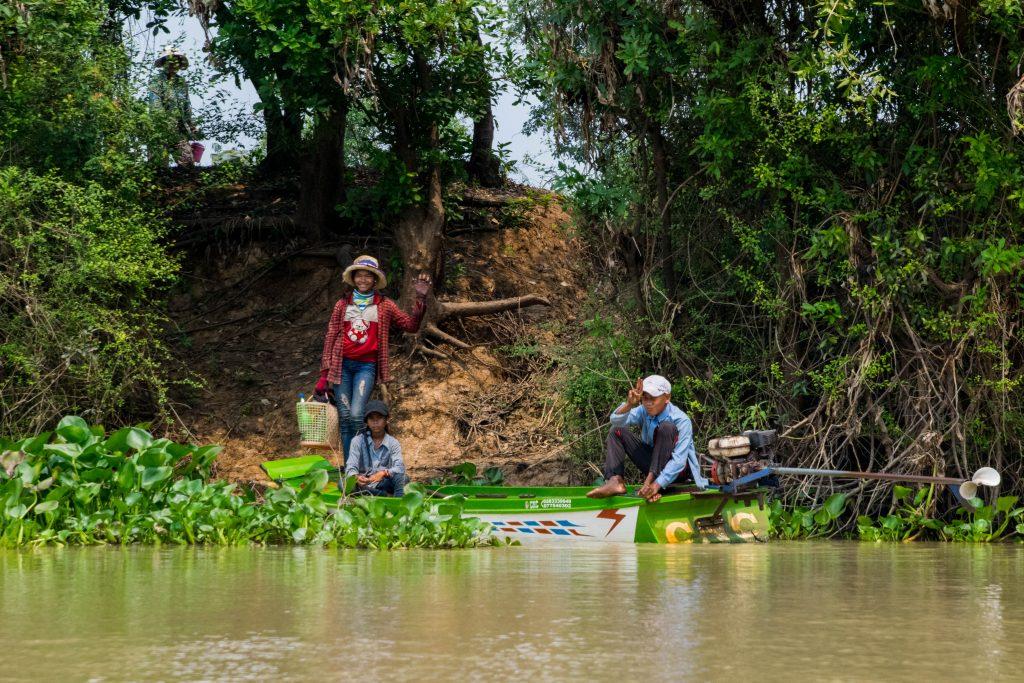 De Siem Reap à Battanbang en bateau