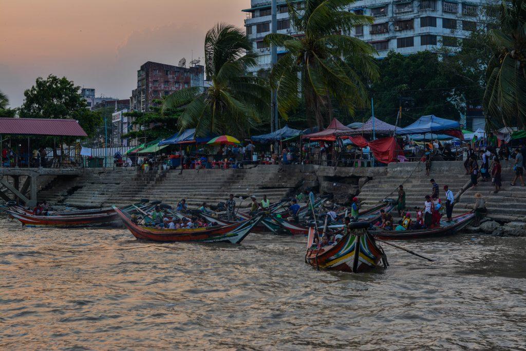 Yangon, la capitale et le visa chinois