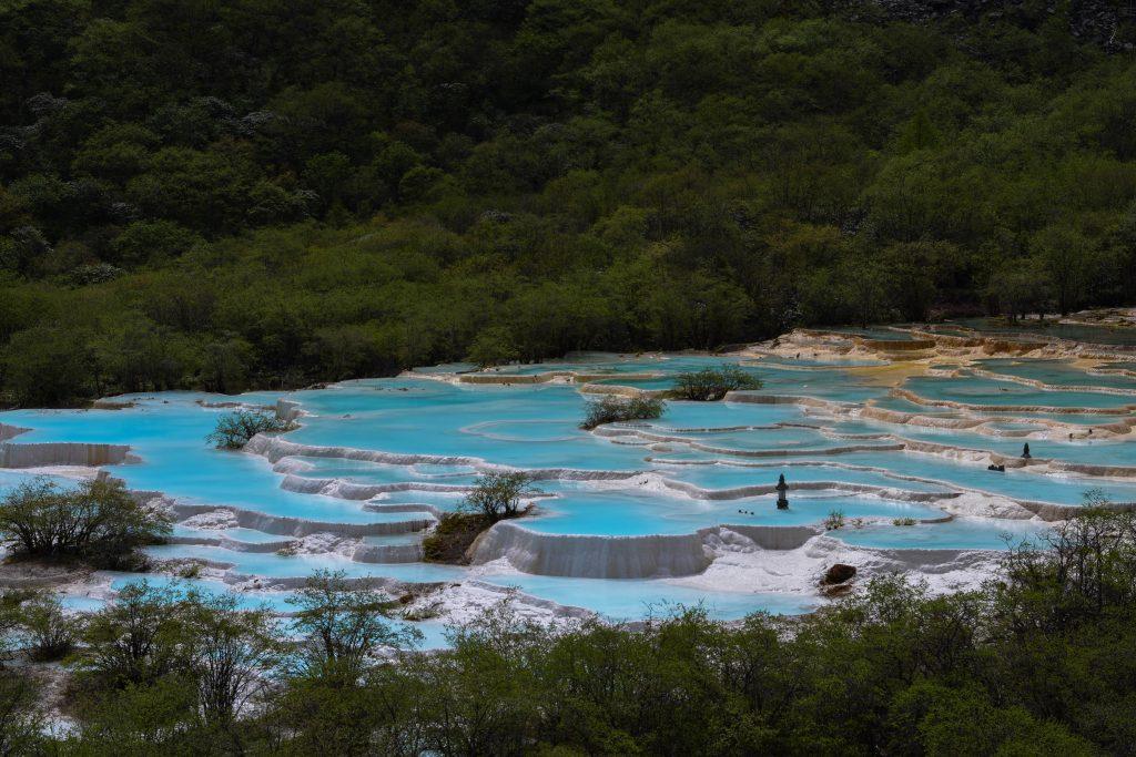 Chuanzhuzi et le magnifique parc d'Huanglong