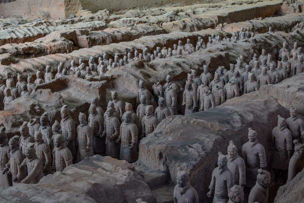 Xi'an, et sa fameuse armée de terre cuite